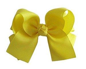 Laço duplo com pontas - cód. 17.173 - Amarelo