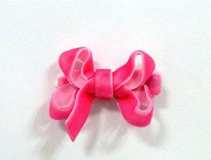 Laço tipo borboleta mini - cód. 14.169 - Rosa