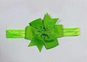 Faixa com laço abby - Cod 22.245 - Verde limão