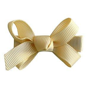 Laço tipo borboleta mini - cód. 14.169 - Creme