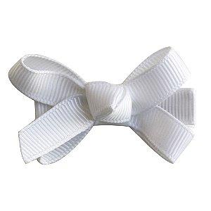 Laço tipo borboleta mini - cód. 14.169 - Branco