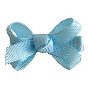 Laço tipo borboleta mini - cód. 14.169 - Azul bebê