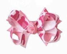 Laço tipo borboleta com base de fita - cód. 14.162 - Onça Rosa