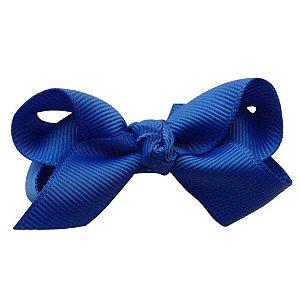 Laço em X modelo borboleta pequeno - cód. 13.197 - Azul royal