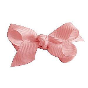 Laço em X modelo borboleta pequeno - cód. 13.197 - Rosa bebê