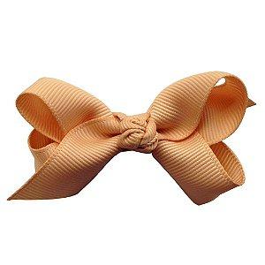 Laço em X modelo borboleta pequeno - cód. 13.197 - Dourado claro