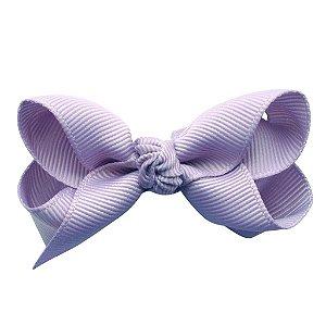 Laço em X modelo borboleta pequeno - cód. 13.197 - Lilas