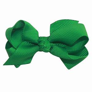 Laço em x modelo borboleta pequeno - cód. 13.197 - Verde bandeira