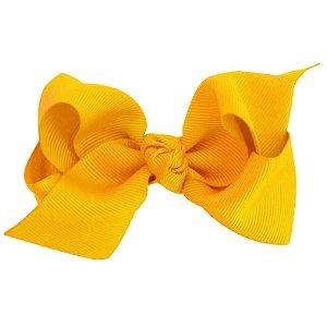 Laço médio em x  com nó - Cód. 13.196 - Amarelo