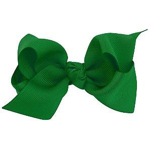 Laço médio em x  com nó - Cód. 13.196 - Verde Bandeira