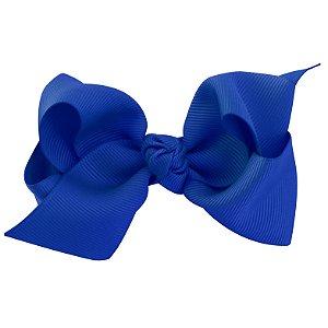 Laço médio em x  com nó - Cód. 13.196 - Azul royal