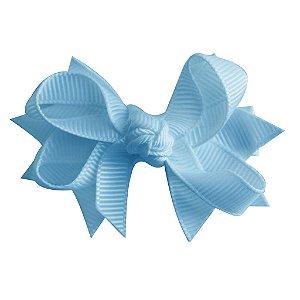 Laço tipo borboleta com base de fita - cód. 14.162 - Azul bebê