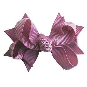 Laço tipo borboleta com base de fita - cód. 14.162 - Lilas
