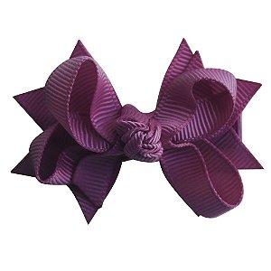 Laço tipo borboleta com base de fita - cód. 14.162 - Uva