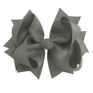 Laço tipo borboleta GG - cód. 17.183 - Cinza