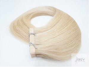 Mega Hair Fita Adesiva Loiro Claro