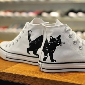 Chuck Tayllor All Star Cano Alto Gatinho