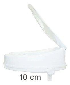 Assento Ortopédico Elevado para o Vaso 10 cm com Tampa Sequencial