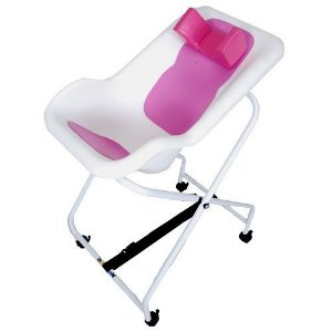 Cadeira de Banho Enxuta Infantil Concha