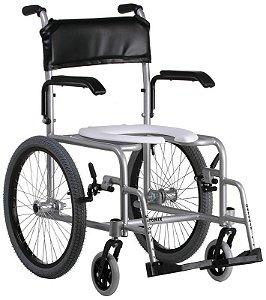 Cadeira de Banho Standard Banho Plus Fixa Alumínio