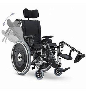 Cadeira de Rodas AVD Alumínio Reclinável