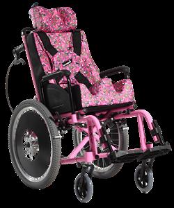 Cadeira de Rodas Confort Reclinável Plus Alumínio