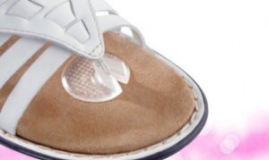 Protetor Para Tiras de Sandália de Dedo Aderente
