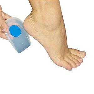 Calcanheira Siligel para Esporão com Ponto Azul