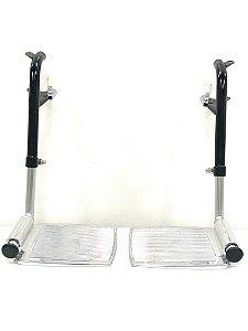 Apoio de Pé Completo Para Cadeira de Rodas Motorizada Dinâmica Plus