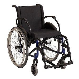 Cadeira de Rodas Dobrável Alumínio Reforçada Até 120 kg K2