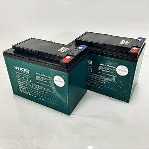 Baterias 58 Ah AGM para Cadeira de Rodas Motorizada B400 Ottobock - PAR