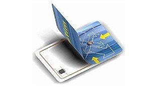 Cartão Mifare iso Chip 1K, 13,56mhz (CENTO)