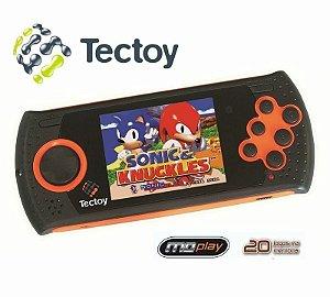 Md Play Mega Drive Portátil Tectoy Com 20 Jogos Na Memória