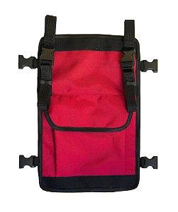 2F Pocket Vermelha - Cover para mochilas Kyosei