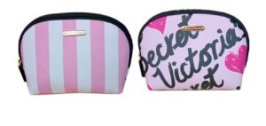 Necessaries bolsa para maquiagem rosa