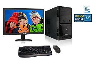 COMPUTADOR CENTRIUM 4560 INTEL PENTIUM/ 4GB/ 500GB HD-LINUX + MONITOR 193V5LSB2 18,5 LED