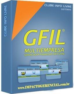 SISTEMA GERENCIADOR FINANCEIRO - GFIL + NFe/NFCe (LICENÇA DE 1 ANO)