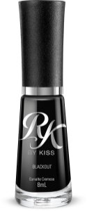 Esmalte Blackout - RK BY KISS NY #LiberteSuasCores