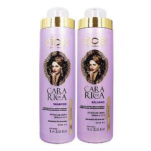 Cara De Rica Shampoo e Bálsamo