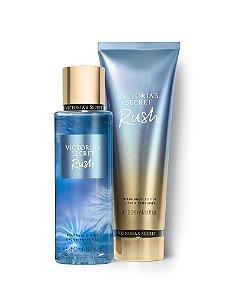 Kit Victoria's Secret Rush (hidratante 236ml + body splesh 250ml)