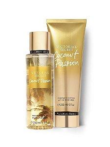 Kit Victoria's Secret Coconut Passion (Hidratante 236ml + Body splesh 250ml)