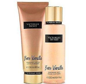 Kit Victoria's Secret Bare Vanilla (Hidratante 236ml + Body splesh 250ml)