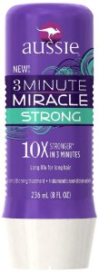 Máscara Aussie 3 Minute Miracle Strong 10X Stronger