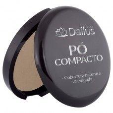 Pó Compacto Dailus Nº08 - Coral