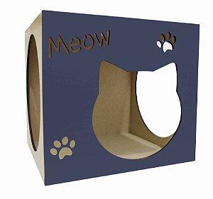 Nicho para Gatos Meow Azul