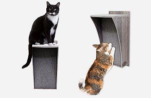 Arranhador de Parede para Gatos Multi - Wood