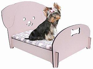 Cama Desmontável Puppy Dog Rosa