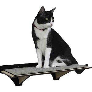 Prateleira para Gatos - Preto