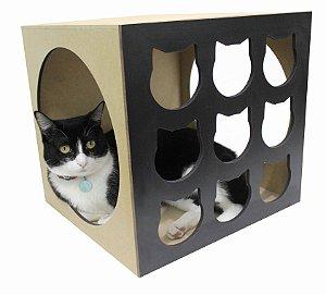 Nicho para Gatos Cat - Preto