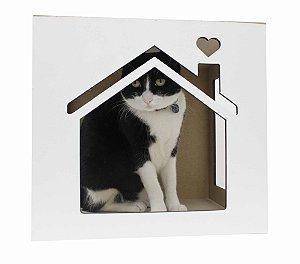 Nicho para Gatos Casinha - Branco